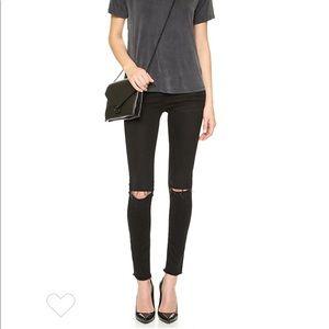 Frame Le Skinny de Jeanne Jeans in Empire Black